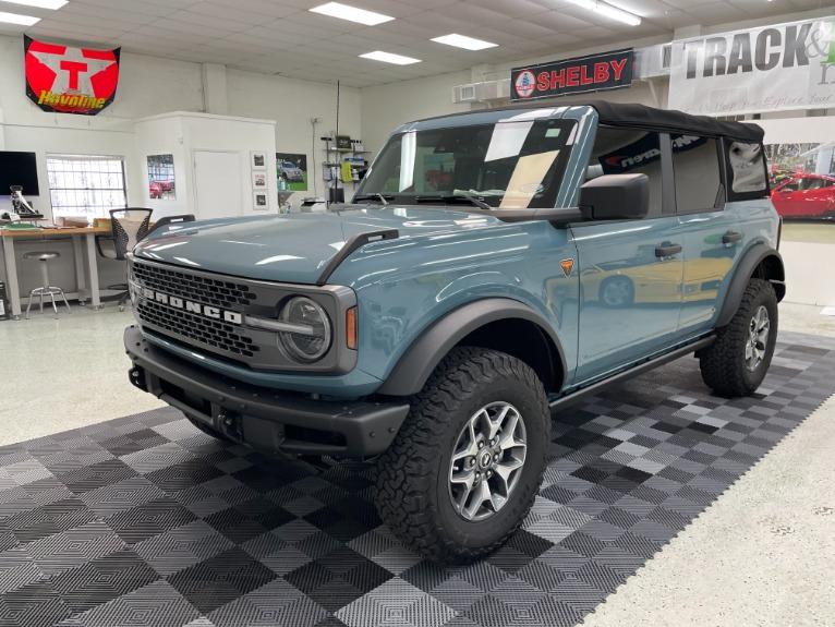 Used 2021 Ford Bronco Badlands Sport Utility 4D for sale Sold at Track & Field Motors in Safety Harbor FL 34695 3