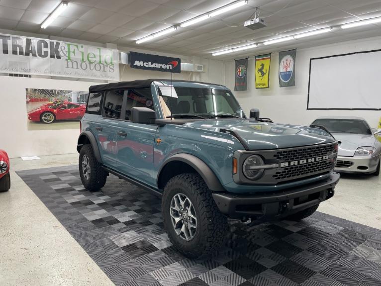 Used 2021 Ford Bronco Badlands Sport Utility 4D for sale Sold at Track & Field Motors in Safety Harbor FL 34695 1