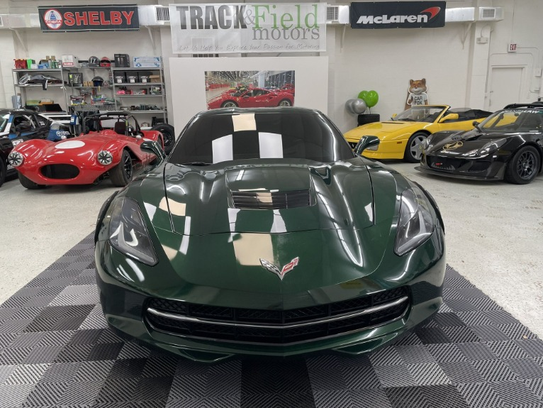 Used 2014 Chevrolet Corvette Stingray Coupe 2D for sale $47,497 at Track & Field Motors in Safety Harbor FL 34695 2