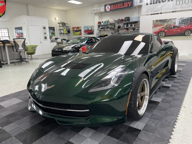 Used 2014 Chevrolet Corvette Stingray Coupe 2D for sale $47,497 at Track & Field Motors in Safety Harbor FL 34695 3