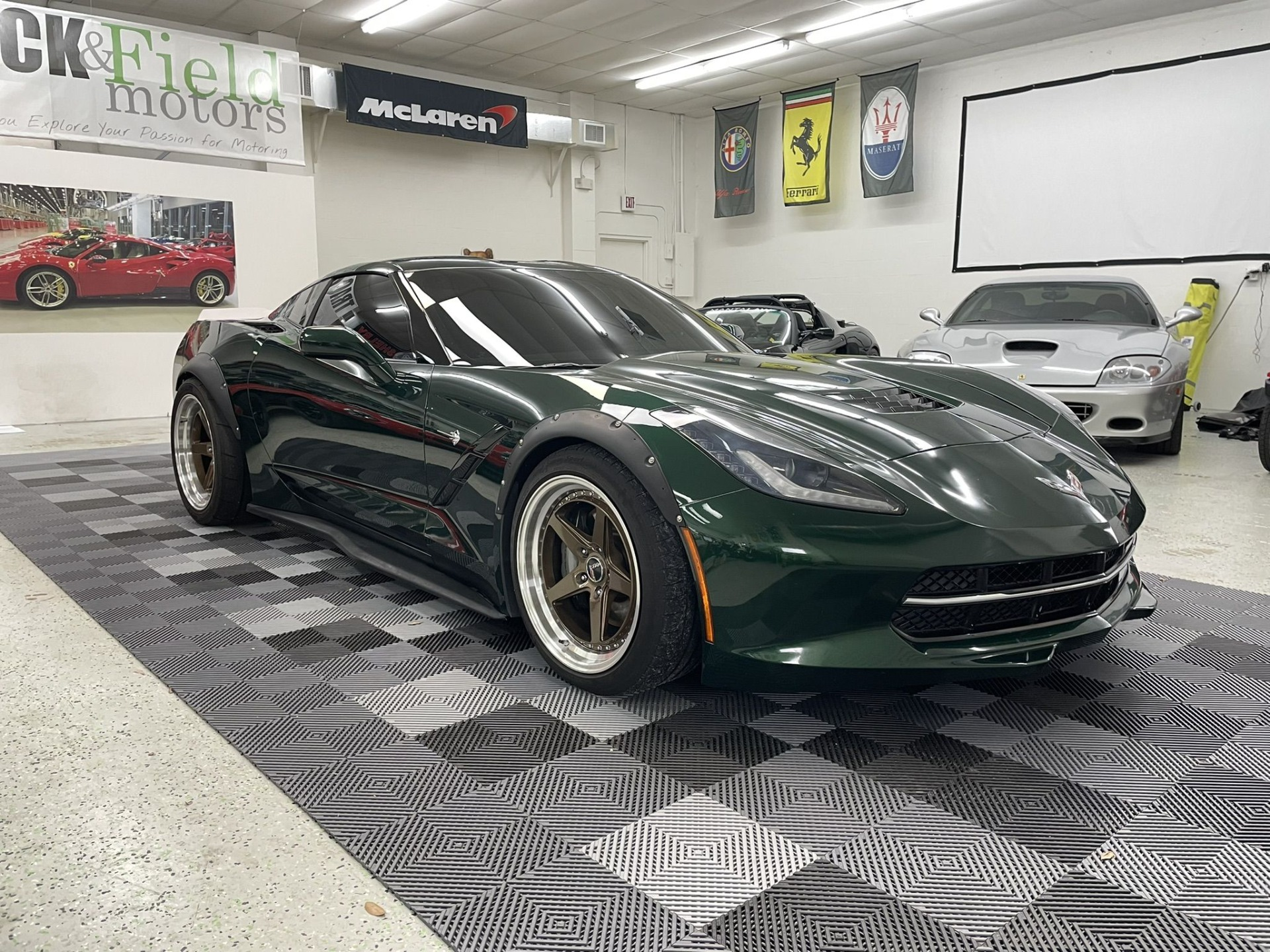 Used 2014 Chevrolet Corvette Stingray Coupe 2D for sale $47,497 at Track & Field Motors in Safety Harbor FL