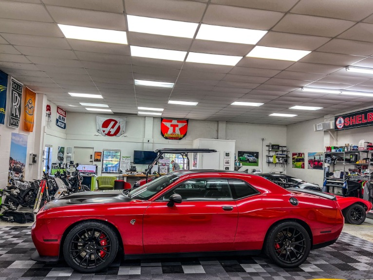 Used 2016 Dodge Challenger hellcat for sale $56,997 at Track & Field Motors in Safety Harbor FL 34695 3