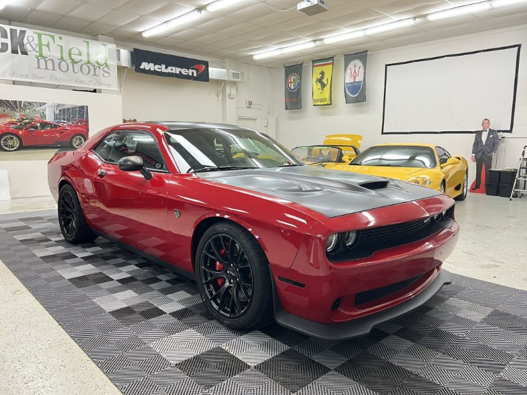 Used 2016 Dodge Challenger hellcat for sale $56,997 at Track & Field Motors in Safety Harbor FL 34695 4