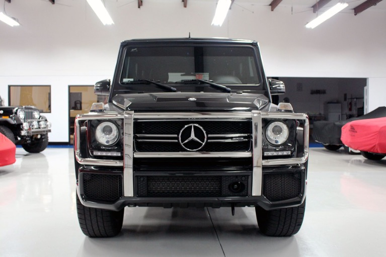 Used 2016 Mercedes-Benz G-Class G 63 AMG Sport Utility 4D for sale Sold at Track and Field Motors in Safety Harbor FL 34695 2