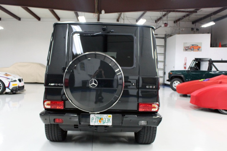 Used 2016 Mercedes-Benz G-Class G 63 AMG Sport Utility 4D for sale Sold at Track and Field Motors in Safety Harbor FL 34695 7