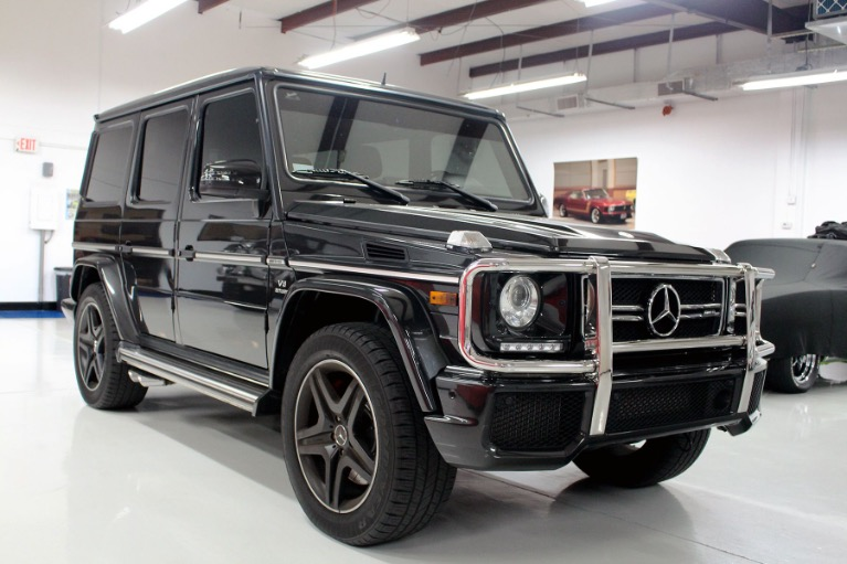 Used 2016 Mercedes-Benz G-Class G 63 AMG Sport Utility 4D for sale Sold at Track and Field Motors in Safety Harbor FL 34695 1