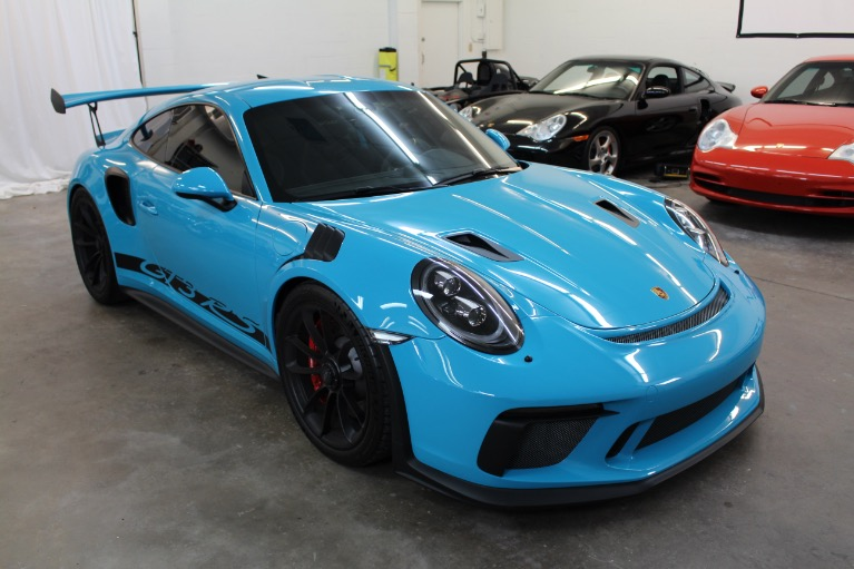Used 2019 Porsche 911 GT3 RS Coupe 2D for sale $232,997 at Track and Field Motors in Safety Harbor FL 34695 2