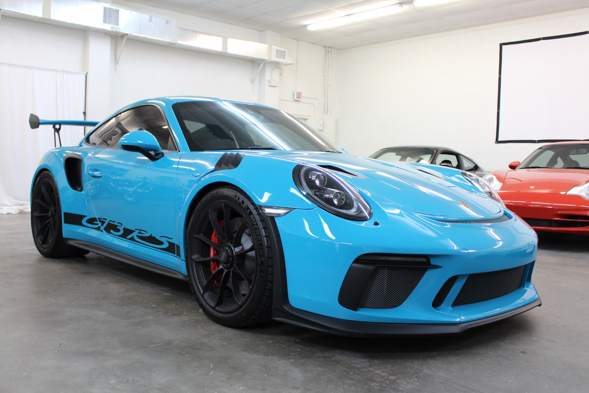 Used 2019 Porsche 911 GT3 RS Coupe 2D for sale $232,997 at Track and Field Motors in Safety Harbor FL 34695 1