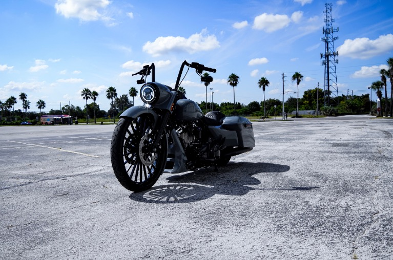 Used 2018 Harley-Davidson FLHRXS Road King Special Custom Bagger for sale $26,750 at Track and Field Motors in Safety Harbor FL 34695 3
