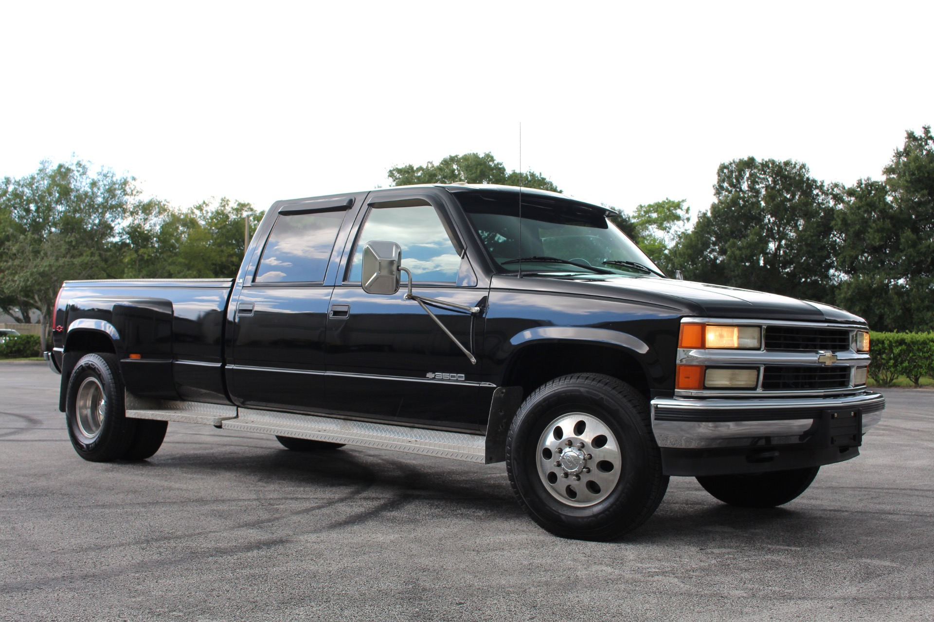 Used 2000 Chevrolet 3500 Crew Cab Long Bed for sale $11,997 at Track and Field Motors in Safety Harbor FL