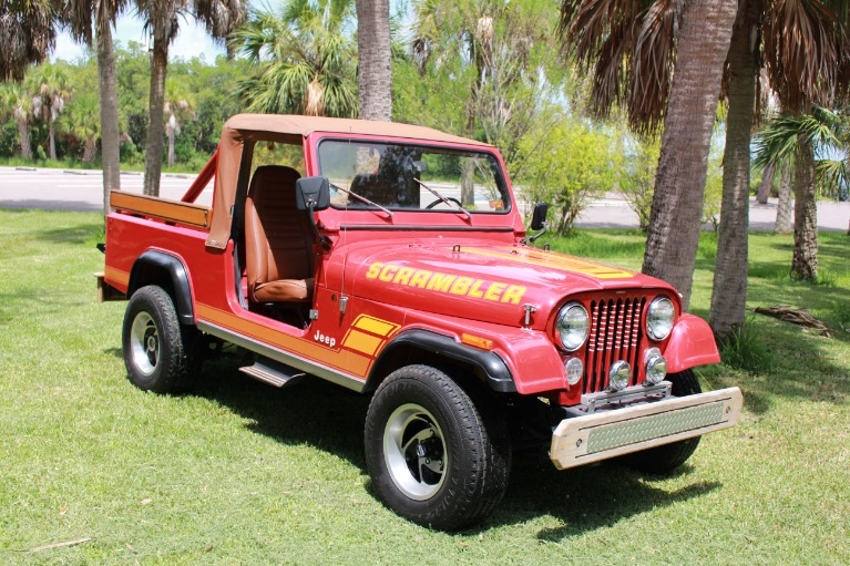 New 1984 Jeep CJ8 Scrambler for sale Sold at Track and Field Motors in Safety Harbor FL 34695 2