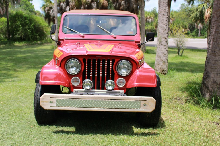 New 1984 Jeep CJ8 Scrambler for sale Sold at Track and Field Motors in Safety Harbor FL 34695 5