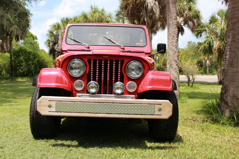 New 1984 Jeep CJ8 Scrambler for sale Sold at Track and Field Motors in Safety Harbor FL 34695 6