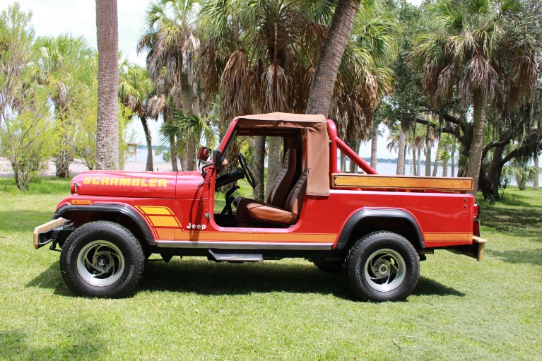 New 1984 Jeep CJ8 Scrambler for sale Sold at Track and Field Motors in Safety Harbor FL 34695 7