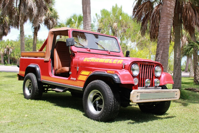 New 1984 Jeep CJ8 Scrambler for sale Sold at Track and Field Motors in Safety Harbor FL 34695 1