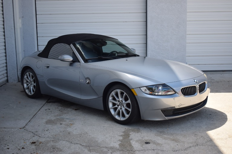 Used 2006 BMW Z4 3.0i Roadster 2D for sale $8,997 at Track and Field Motors in Safety Harbor FL 34695 2