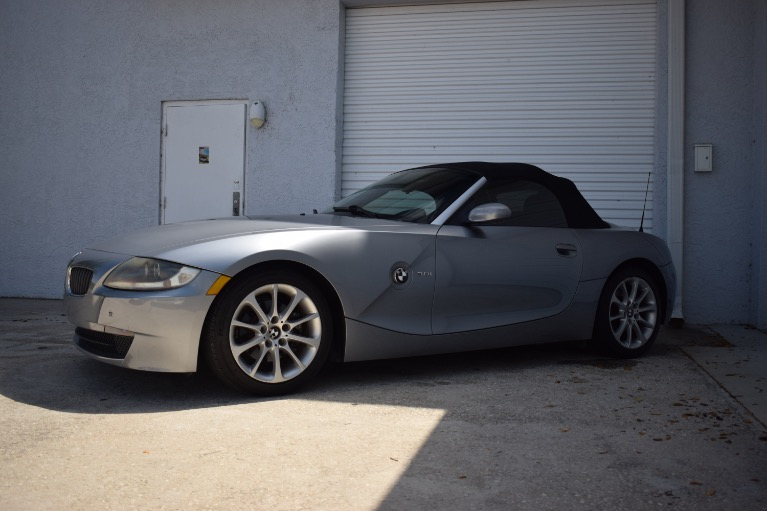 Used 2006 BMW Z4 3.0i Roadster 2D for sale $8,997 at Track and Field Motors in Safety Harbor FL 34695 5