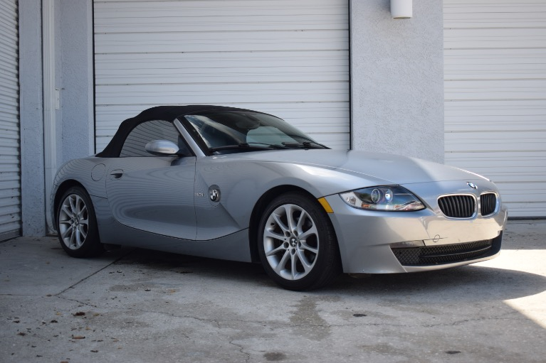 Used 2006 BMW Z4 3.0i Roadster 2D for sale $8,997 at Track and Field Motors in Safety Harbor FL 34695 1