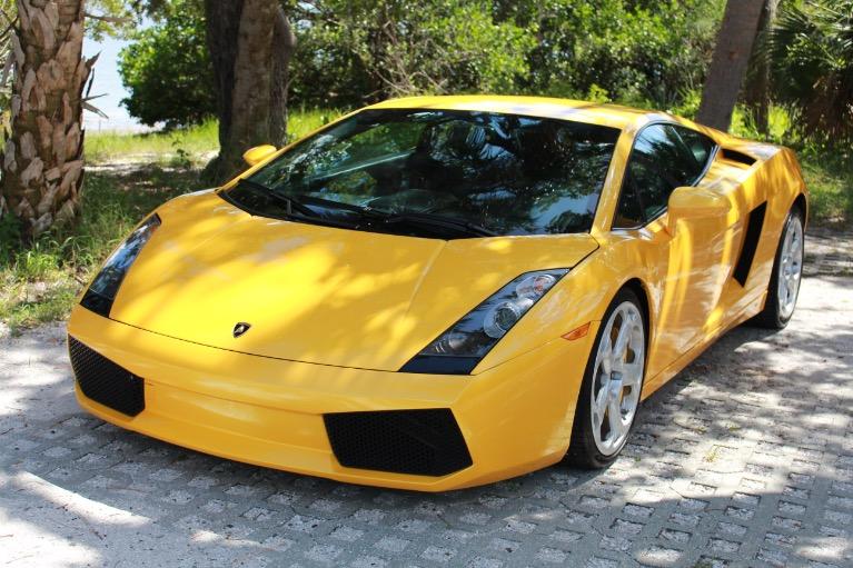 Used 2004 Lamborghini Gallardo Coupe for sale $79,997 at Track and Field Motors in Safety Harbor FL 34695 3