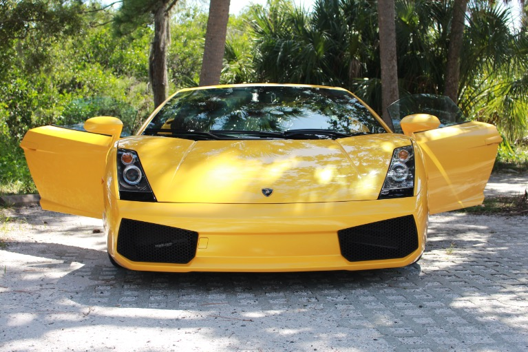 Used 2004 Lamborghini Gallardo Coupe for sale Sold at Track and Field Motors in Safety Harbor FL 34695 6
