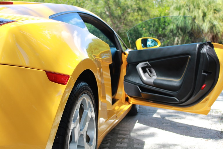 Used 2004 Lamborghini Gallardo Coupe for sale Sold at Track and Field Motors in Safety Harbor FL 34695 8