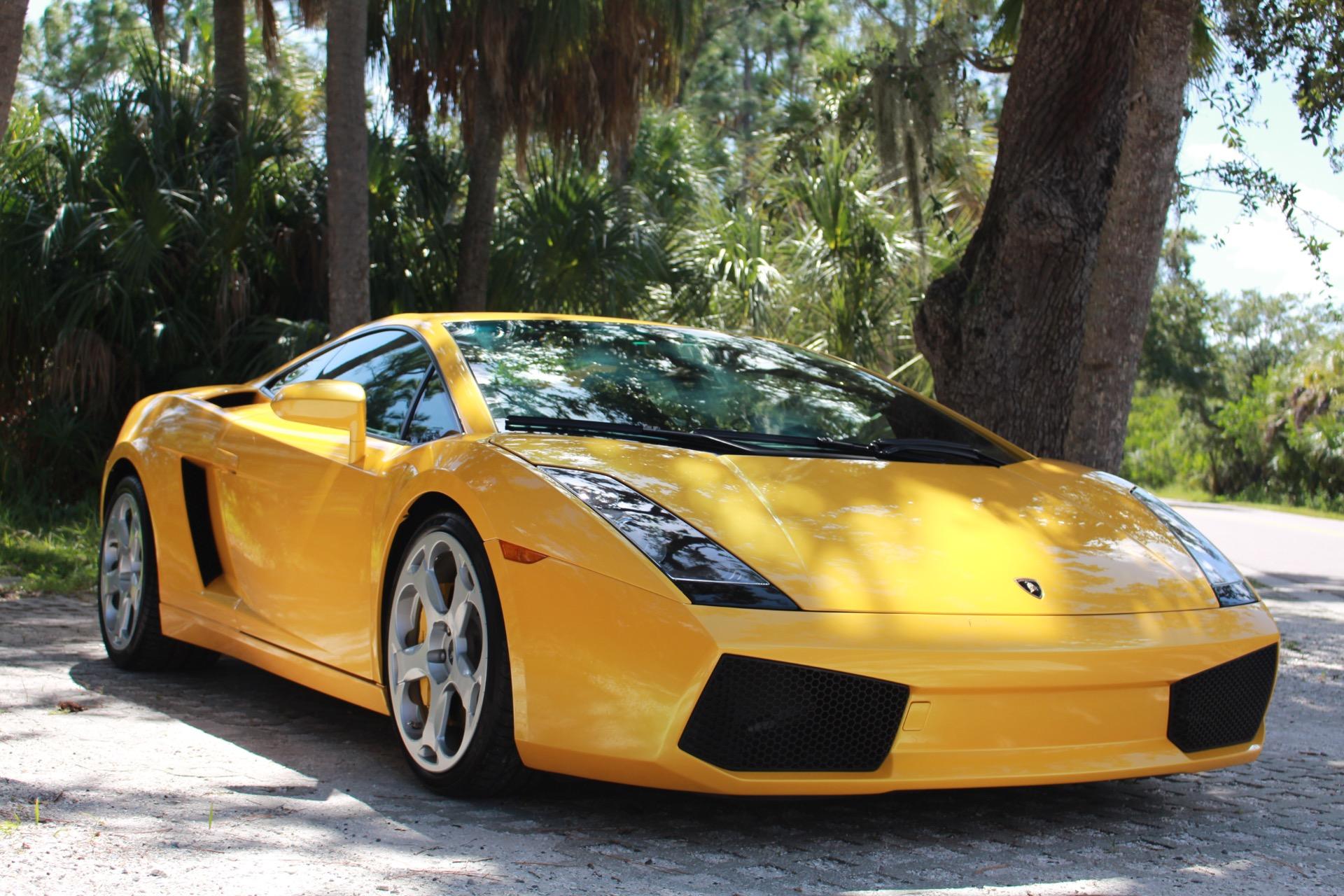 Used 2004 Lamborghini Gallardo Coupe for sale Sold at Track and Field Motors in Safety Harbor FL 34695 1