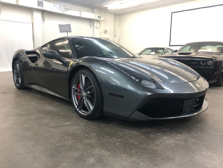Used 2018 Ferrari 488 GTB Coupe 2D for sale $244,997 at Track and Field Motors in Safety Harbor FL 34695 2