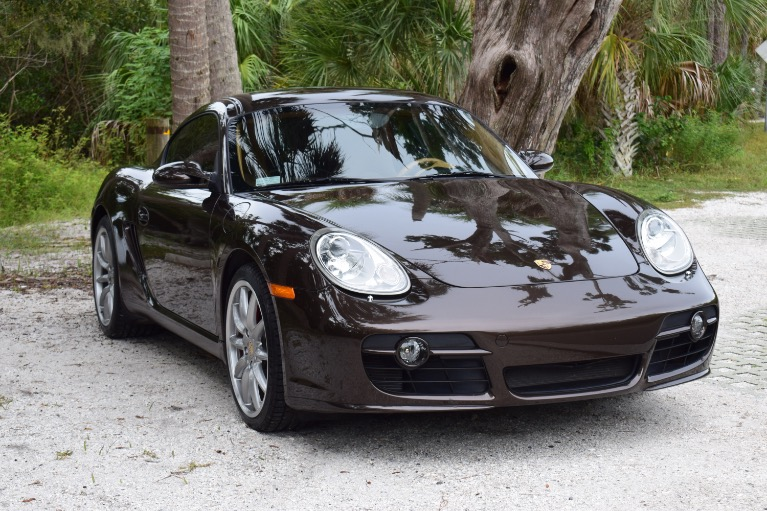 Used 2008 Porsche Cayman S Coupe 2D for sale Sold at Track and Field Motors in Safety Harbor FL 34695 2