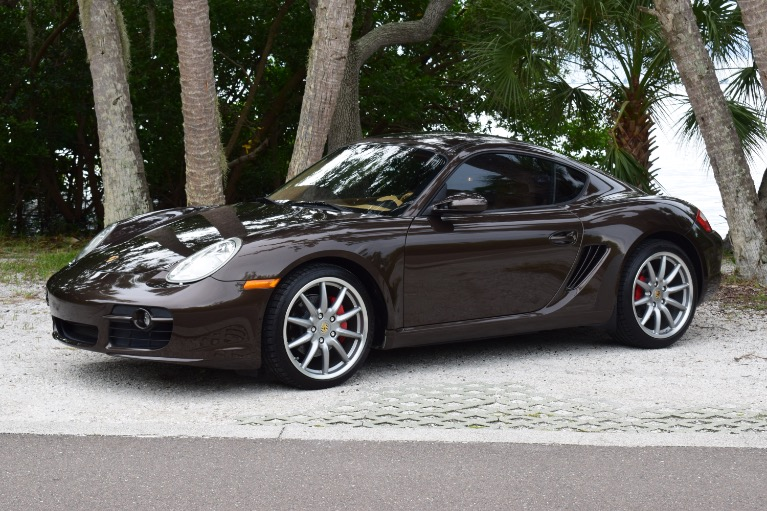 Used 2008 Porsche Cayman S Coupe 2D for sale Sold at Track and Field Motors in Safety Harbor FL 34695 7