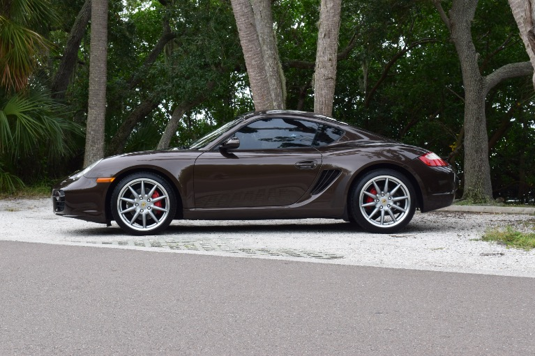 Used 2008 Porsche Cayman S Coupe 2D for sale Sold at Track and Field Motors in Safety Harbor FL 34695 8