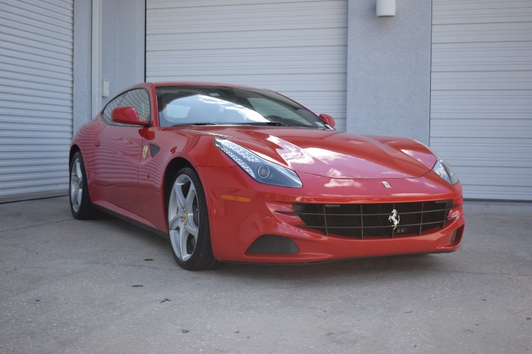 Used 2012 Ferrari FF Coupe 2D for sale $119,997 at Track and Field Motors in Safety Harbor FL 34695 3