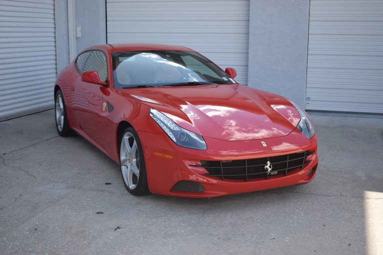 Used 2012 Ferrari FF Coupe 2D for sale $119,997 at Track and Field Motors in Safety Harbor FL 34695 4