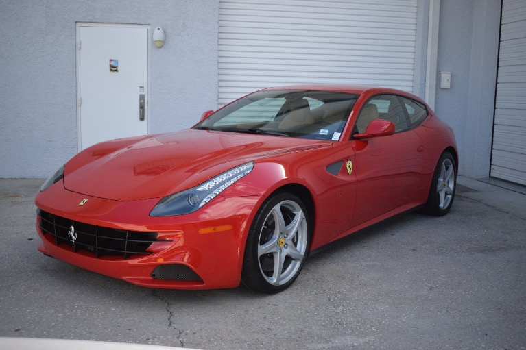 Used 2012 Ferrari FF Coupe 2D for sale Sold at Track and Field Motors in Safety Harbor FL 34695 7