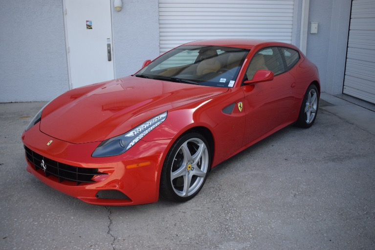 Used 2012 Ferrari FF Coupe 2D for sale $119,997 at Track and Field Motors in Safety Harbor FL 34695 8