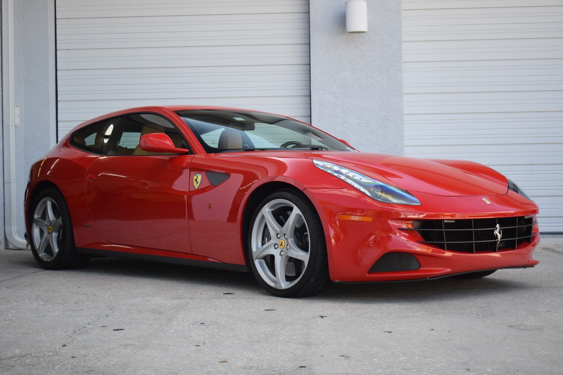 Used 2012 Ferrari FF Coupe 2D for sale $109,997 at Track and Field Motors in Safety Harbor FL
