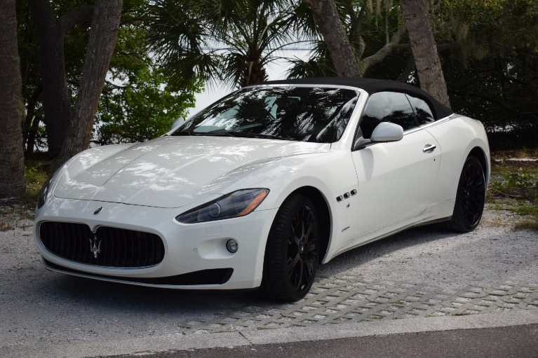 Used 2011 Maserati GranTurismo Convertible 2D for sale Sold at Track and Field Motors in Safety Harbor FL 34695 7