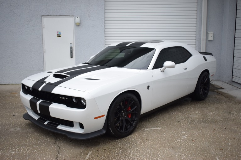 Used 2016 Dodge Challenger SRT Hellcat Coupe 2D for sale $54,997 at Track and Field Motors in Safety Harbor FL 34695 6