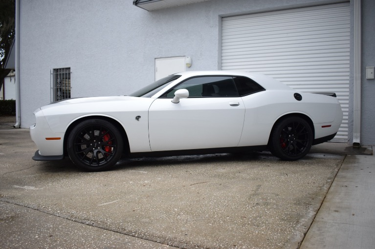 Used 2016 Dodge Challenger SRT Hellcat Coupe 2D for sale Sold at Track and Field Motors in Safety Harbor FL 34695 7