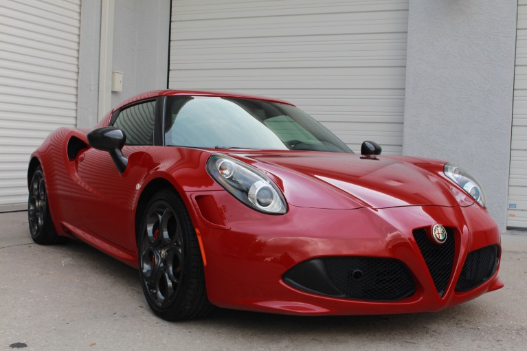 Used 2015 Alfa Romeo 4C Launch Edition Coupe 2D for sale $41,997 at Track and Field Motors in Safety Harbor FL 34695 4