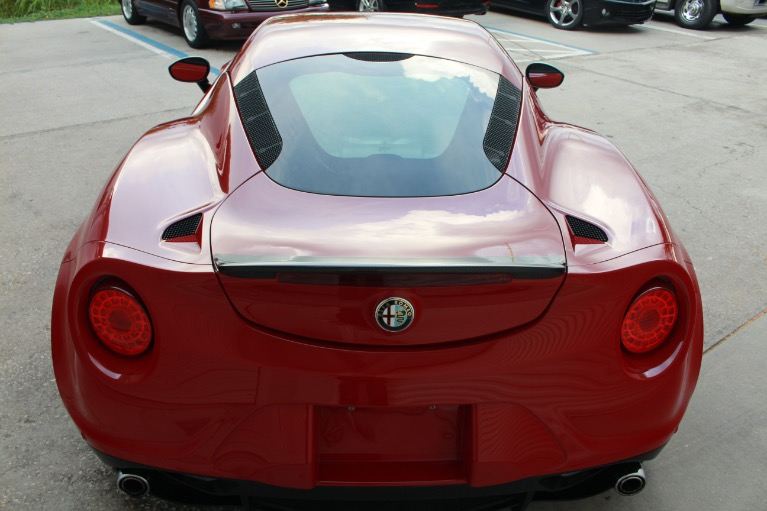 Used 2015 Alfa Romeo 4C Launch Edition Coupe 2D for sale Sold at Track and Field Motors in Safety Harbor FL 34695 7