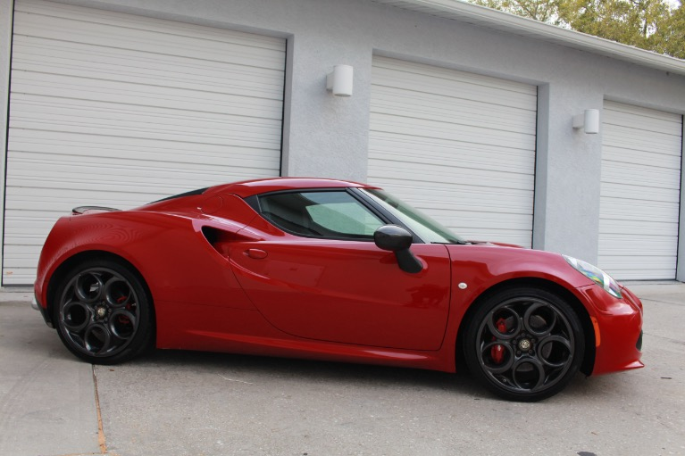Used 2015 Alfa Romeo 4C Launch Edition Coupe 2D for sale $41,997 at Track and Field Motors in Safety Harbor FL 34695 8