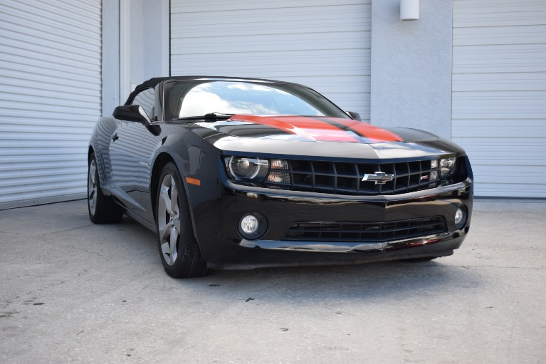 Used 2013 Chevrolet Camaro LT Convertible 2D for sale Sold at Track and Field Motors in Safety Harbor FL 34695 2