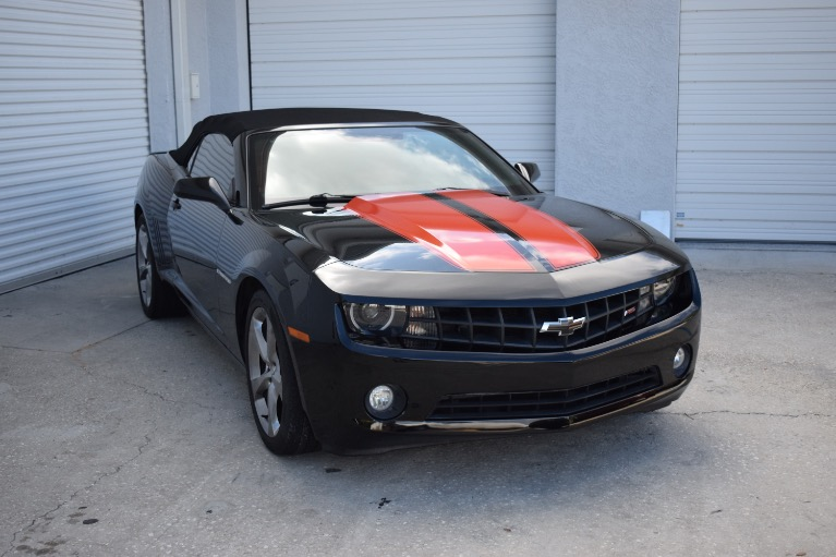 Used 2013 Chevrolet Camaro LT Convertible 2D for sale Call for price at Track and Field Motors in Safety Harbor FL 34695 3