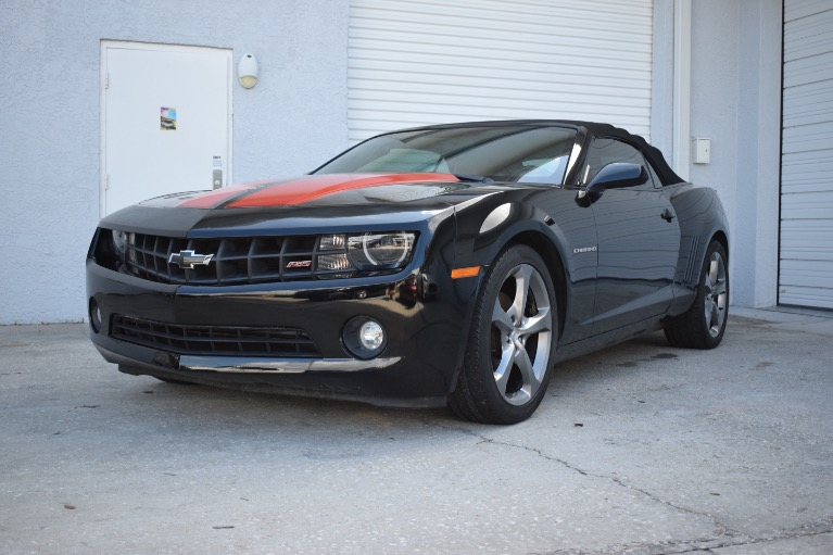 Used 2013 Chevrolet Camaro LT Convertible 2D for sale Call for price at Track and Field Motors in Safety Harbor FL 34695 6