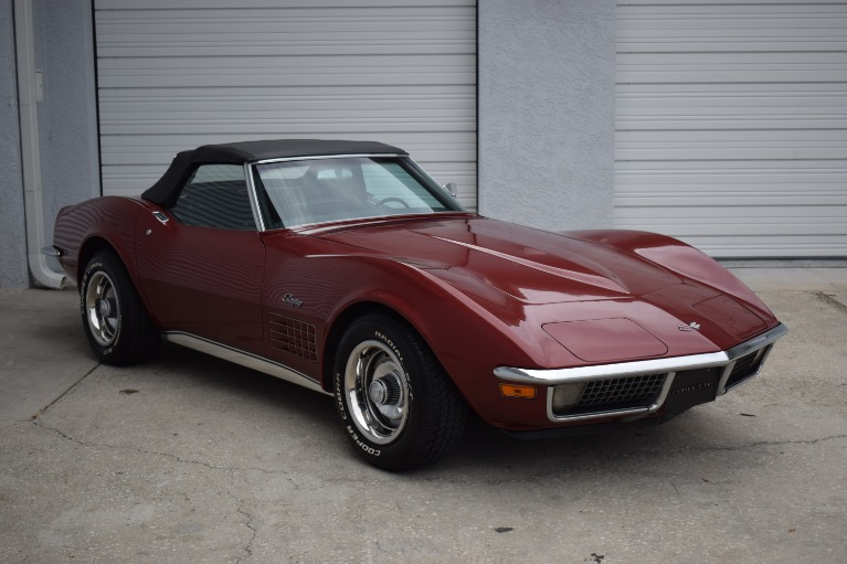 Used 1970 Chevrolet Corvette Stingray Convertible for sale Sold at Track and Field Motors in Safety Harbor FL 34695 2