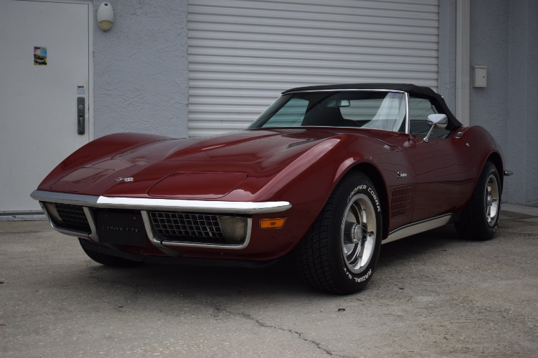 Used 1970 Chevrolet Corvette Stingray Convertible for sale Sold at Track and Field Motors in Safety Harbor FL 34695 5
