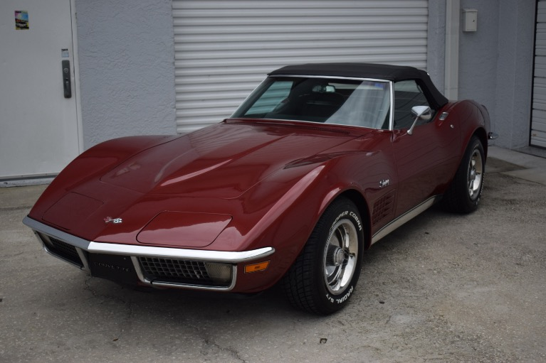 Used 1970 Chevrolet Corvette Stingray Convertible for sale Sold at Track and Field Motors in Safety Harbor FL 34695 6