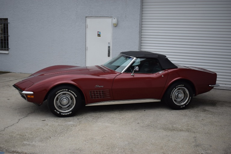 Used 1970 Chevrolet Corvette Stingray Convertible for sale Sold at Track and Field Motors in Safety Harbor FL 34695 8