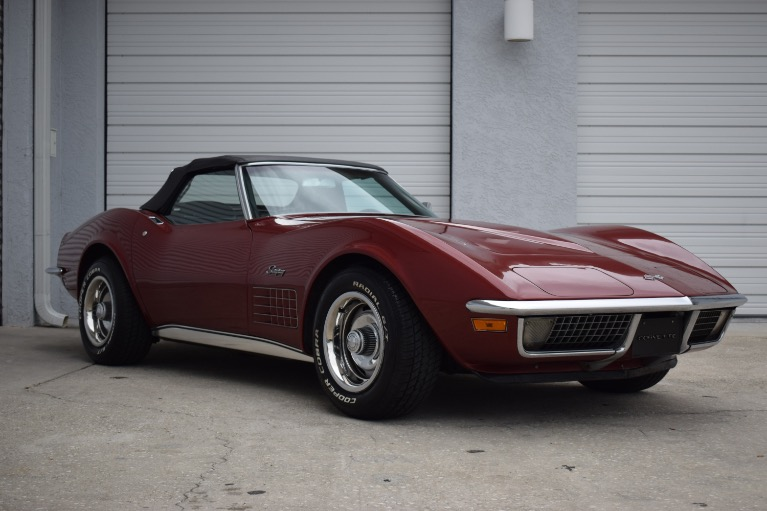Used 1970 Chevrolet Corvette Stingray Convertible for sale $29,997 at Track and Field Motors in Safety Harbor FL
