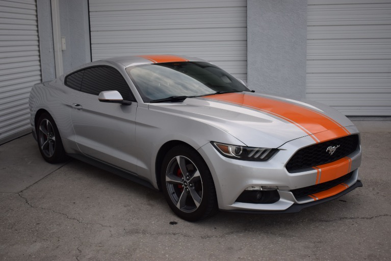 Used 2015 Ford Mustang EcoBoost Premium Coupe 2D for sale Sold at Track and Field Motors in Safety Harbor FL 34695 2